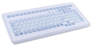 TKS-104c-KGEH-USB Промышленная IP65 компактная настольная клавиатура, 104 клавиши, USB