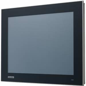 """FPM-215-R8AE Промышленный 15"""" LCD LED монитор с резистивным сенсорным экраном (интерфейс USB), 1024x768, яркость 300 кд/м2, VGA, HDMI, DP, адаптер питания 100-240В AC 60Вт, IP66 по передней панели"""