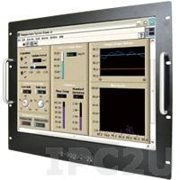 """R20L100-RKA2/DVI/SPK Промышленный монитор 20.1"""" LCD, 1600x1024, алюминевая передняя панель, DVI, VGA, с блоком питания 100-240В AC, вход питания 12В DC"""