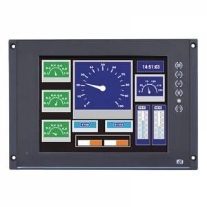 """P6125PR-24-110VDC w/VGA 12.1"""" TFT монитор, яркость 800 нит, 1024x768, резистивный сенсорный экран (RS-232), 1xVGA, 1xDVI-D, 1xHDMI, 1xLine-in, питание 24...110В DC, NEMA 4/12 (IP65) по передней панели, -25...+55C"""