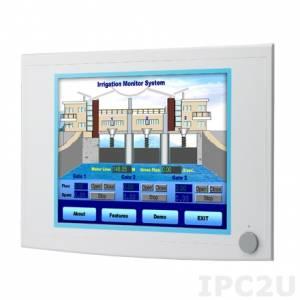 """FPM-5171G-R3BE Промышленный 17"""" TFT LCD LED монитор, 1280x1024, яркость 350 нит, резистивный сенсорный экран (RS-232 & USB), VGA, DVI-D, питание 10-30В DC"""