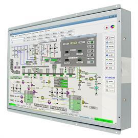 "W32L300-OFA3/DVI Промышленный 32"" монитор, 1920x1080, 350 нит, VGA, DVI, адаптер питания AC DC"
