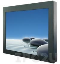 """R23L100-CHS1 Промышленный 23.1"""" TFT LCD монитор, 1600x1200, без сенсорного экрана, металлическая передняя панель, VGA, с блоком питания 100-240V AC, вход питания 12В DC"""