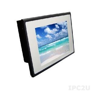 """TM82RSS 8.4"""" TFT LCD LED дисплей, 800x600, 450 нит, резистивный сенсорный экран (COM), VGA, DVI, адаптер питания AC DC"""