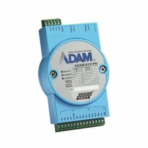 ADAM-6151PN-AE Модуль ввода, 16 каналов дискретного ввода, PROFINET