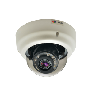 B65 2 МП купольная IP-камера, мотор. трансфокатор f3-9мм/F1.2-2.1, 3х оптич. увеличение, DC- диафрагма, H.264, 1080p/30 кадр/сек, день/ночь, адапт. ИК подсветка, WDR, SLLS, DNR, Аудио, Micro SDHC/SDXC, PoE/DC12В, IK09, DI/DO