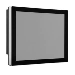 """TDM-P121WT 12.1"""" промышленный монитор, проекционно-емкостный сенсорный экран, IP65 по передней панели, VGA/DP/HDMI, 1280*800, 500 нит, -40...80C, 9...36VDC-in, IEC-60945, адаптер питания"""