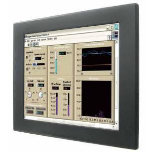 """R19L300-PPA1HB 19"""" TFT LCD промышленный монитор,1280x1024, 1000 nits, емкостный сенсор, входы VGA, HDMI, 12В DC-in, адаптер питания 50Вт, IP65 по передней панели"""