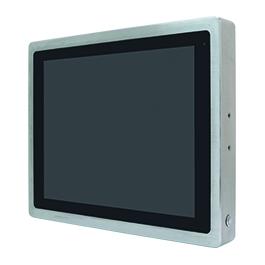 """ViTAM-119G Защищенный TFT LCD монитор, 19"""", защита IP66/IP69K, VGA/HDMI коннекторы M12, яркость 350нит, без сенсора, защитное стекло, питание 9-36В DC, 0-50C, адаптер питания."""